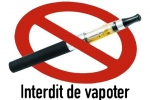 interdiction vapoter