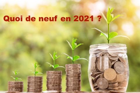 Quoi de neuf 2021
