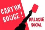 carton rouge dialogue social